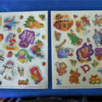 2 Christmas Sticker Sheets
