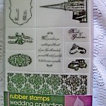 Wedding Collection Stamps (9 rubber stamps)