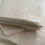 "100 x 6""x6"" batting squares for Quilt As You Go (QAYG) projects"