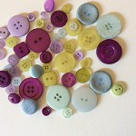 50 mixed  button buttons embellishment cardmaking sewing craft button