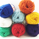 Mixed pack 8 Ply Knitting Yarn