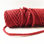 Bonnie Braid 6mm 100yds Cranberry Macrame Cord