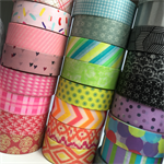 WASHI TAPE 20 ROLL LUCKY DIP MYSTERY BUNDLE SCRAPBOOKING CRAFT WRAP PLAN