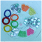 23mm (Size 36) Mixed Pack ~ Self Cover Buttons, Hair Ties, Snap Clips etc.