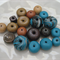 Assorted Wooden Beads x 18