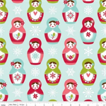 Merry Matryoshka Dolls -Riley Blake