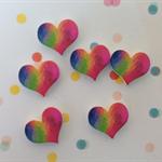 10pcs 16mm Heart Handmade Photo Wood Cut Cabochon