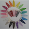 10 x hair clips with glue pads - Pick your own colour