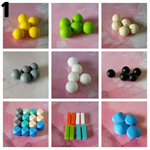 Silicone beads PACK 1