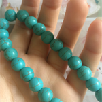 30beads Turquoise Beads 10mm Round