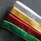 4 Christmas Colours Glitter Elastic Headbands One Set Only