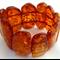 10 x Large Baltic Amber Gemstone Pebble Shaped Beads