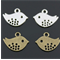 5 Silver or Antique Bronze Bird Charms
