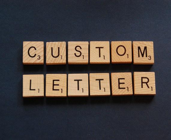 5 x Custom Letters Scrabble Tiles, wedding table names, ceremonies