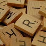 200 Wooden Scrabble Tiles in Bulk, 2 Complete Sets.