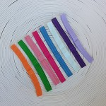 8 x Mixed Pack Elastic Headbands (FOE)