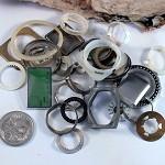 DESTASH - steampunk watch mechanism frames and rings