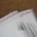 40 Large Self Adhesive Cellophane Bags 34 x23cm