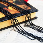 10 x Black Ball Chains 2.4 24 inches, Premium quality
