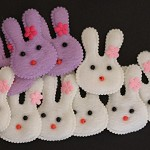 10 Padded Easter Bunny/Rabbits Heads