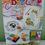 DIY Card Creation Set/Cards/Envelopes/Stamps/Stamp Pad