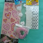 All the Hearts Stickers for Scrapbooking & Cardmaking/4 packets