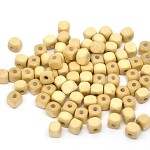 300 Square Cube Wood Spacer Beads 8x8mm