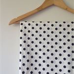 Polka Dot Stretch Cotton Fabric