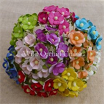 Wild Orchid Crafts mulberry paper flowers mixed sweetheart blossoms