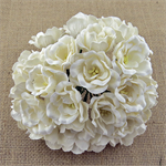 Wild Orchid Crafts mulberry paper Magnolias- white colour.