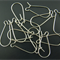 100 Antique Silver Plated Earring Wires (25 pairs)