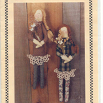 Pattern - Vanilla House - Cloth Dolls - Thelma and Louise.