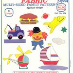 Pattern - Applique Designs for Children