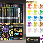 Chameleon Deluxe Marker pens set of 22. FREE DELIVERY