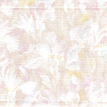 Patchwork - Quilting Fabric - Fat 1/4 - Iris Flowers - Pale Pinks