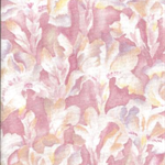 Patchwork - Quilting Fabric - Fat 1/4 - Iris Flowers - Pink and Yellow