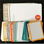 Project Life Seafoam Edition 108 journal cards