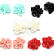 LAST SET 10 Resin Flower Cabochons