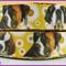 1 Metre, SAINT BERNARD, Grosgrain Ribbon, 7/8, Dogs, Crafts