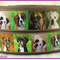1 Metre, BOXER, Grosgrain Ribbon, 78, Dogs, Crafts