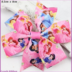 1 x GIRLS PRINCESS HAIRBOW,  8.5 cm, Choose Color