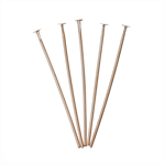 500 PCs Rose Gold Head Pins 30mm,0.7mm(21 Gauge)