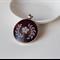 Black Shell & Bali Silver Pendant – 53x41x7 millimetres