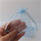 15 x Medium pale blue Organza Bags (8cm x 10cm)