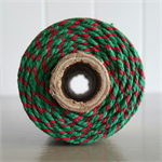 100mts Bakers Twine 12ply CHRISTMAS
