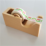 Wooden Tape Dispenser