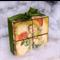 WOODEN BLOCKS UNFINISHED, 4.2cm Pine Blocks Toymaking Set of 3, Building Blocks