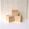 WOODEN BLOCKS UNFINISHED, 4.2cm Pine Blocks Toymaking Set of 3, Building Blocks