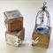 WOODEN BLOCKS 4.2cm Pine Blocks, Toymaking Set of 3, Rounded Edges