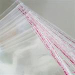 20 Large Self Adhesive Cellophane Bags 34 x23cm